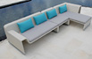 Outdoor Sectional Sofa Sunny MOD