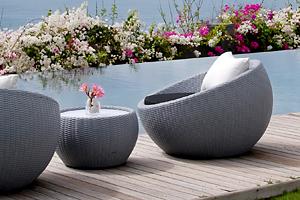 Circle Outdoor Lounge Chair Lebello Furniture