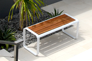 Peachy Skin Modern Outdoor Stool Bench Lebello Outdoor Contract Ibusinesslaw Wood Chair Design Ideas Ibusinesslaworg
